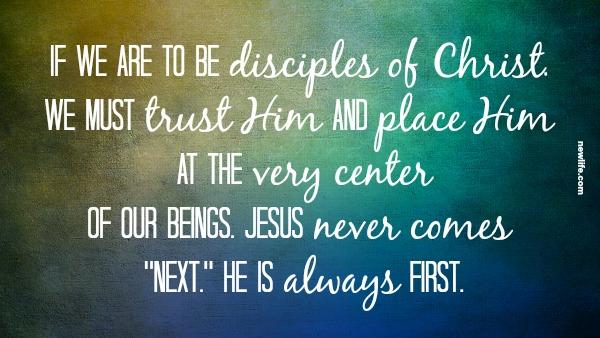 disciples of Christ.newlife